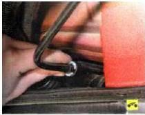 1. Разъедините трубопровод вентиляции