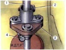 Рис. 8.5 Муфта шала рулевого колеса: